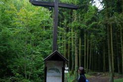 La croix des Redoutes sur le Saillant de St-Mihiel