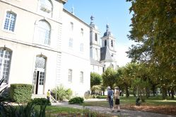 Escalier carré- Abbaye des Prémontrés